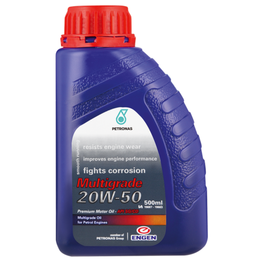 Engen Multigrade 20W-50 Motor Oil 500ml