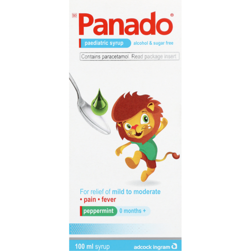 Panado Sugar Free Pediatric Syrup 100ml