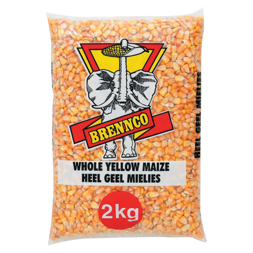 Brennco Whole Yellow Maize 2kg