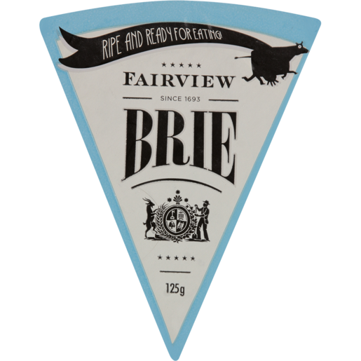 Fairview Ripe & Ready Brie Cheese 125g