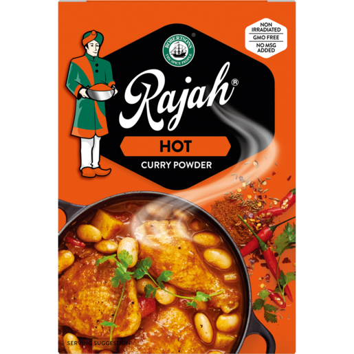 Robertsons Rajah Hot Curry Powder 50g