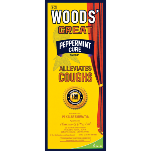 Woods' Great Peppermint Cure Syrup 100ml