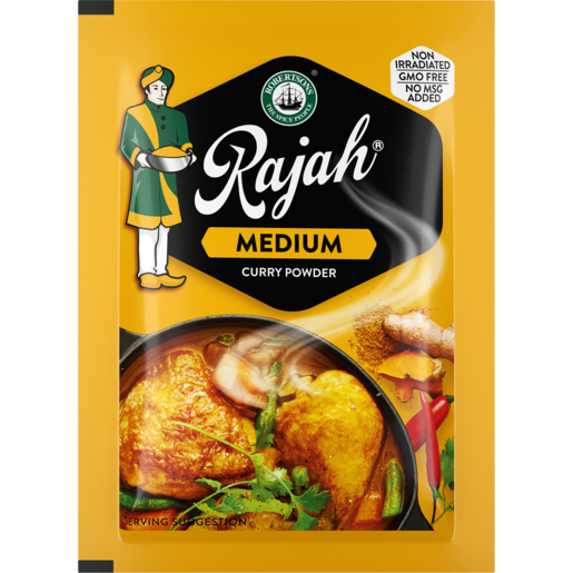 Robertsons Rajah Medium Curry Powder Envelope 7g