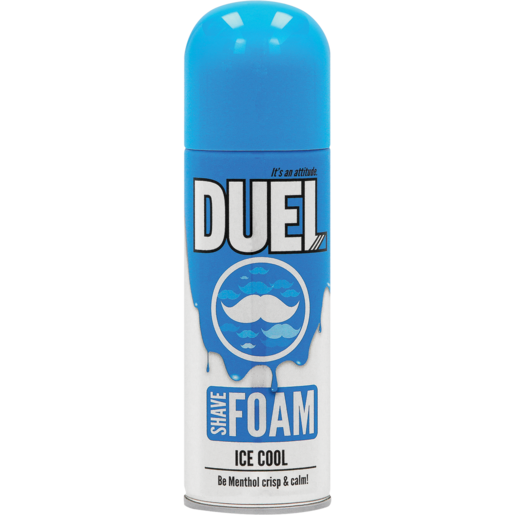 Lion Duel Ice Cool Shave Foam 200ml