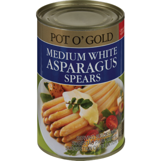 Pot O' Gold Medium White Asparagus Spears 430g