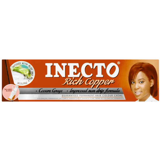 Inecto Rich Copper Hair Colour Cream 50ml