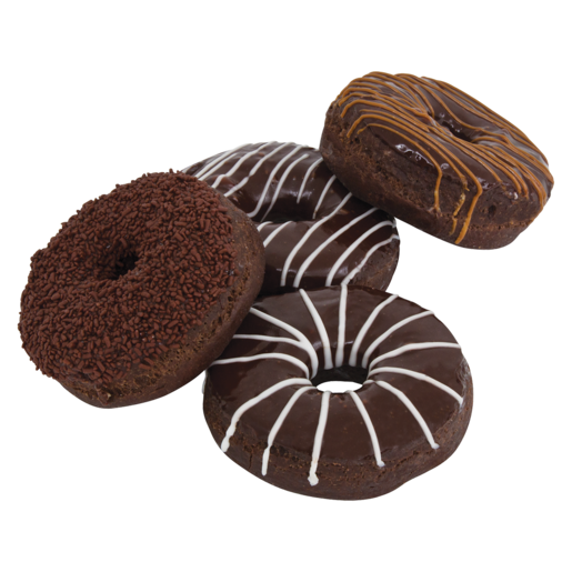 Assorted Chocolate Ring Doughnut