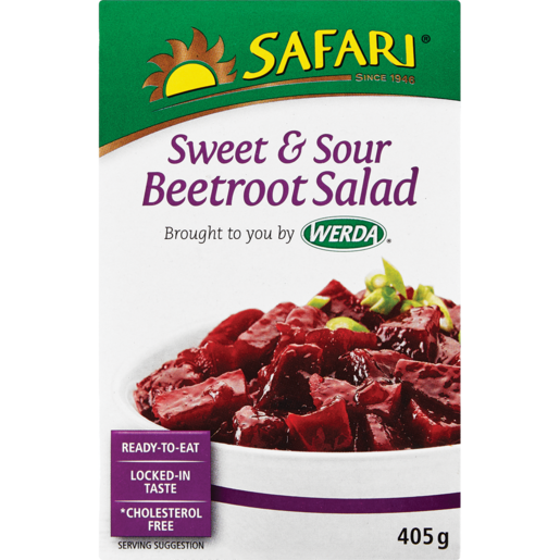 Werda Safari Sweet & Sour Beetroot Salad 405g
