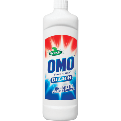 Omo Fresh Foam Action Bleach 750ml