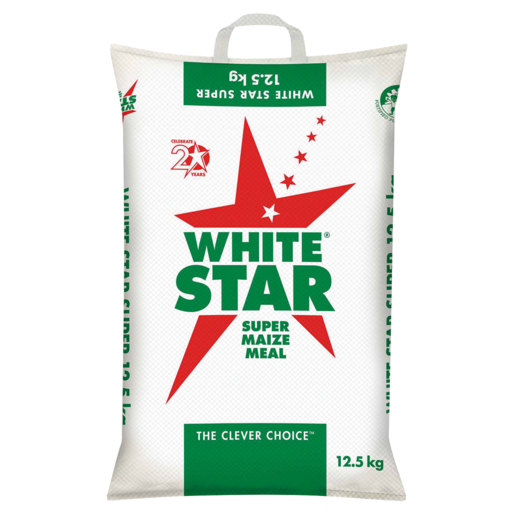 White Star Super Maize Meal 12.5kg