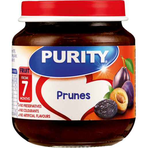 Purity Prunes Baby Food 125ml