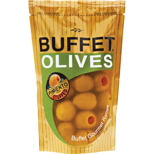 Buffet Pimiento Olives Sachet 200g