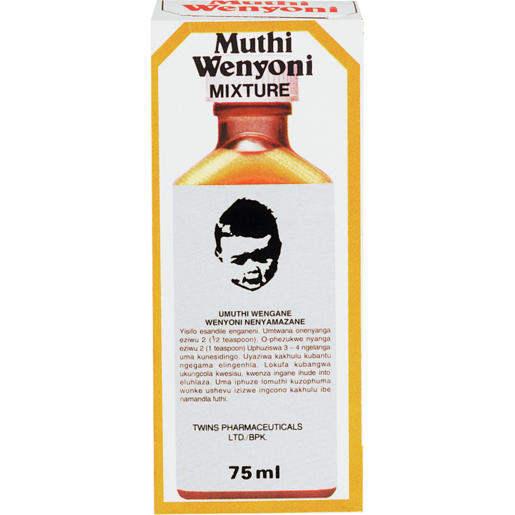 Muthi Wenyoni Mixture Bottle 75ml