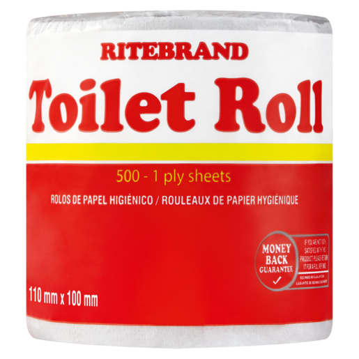 Ritebrand 1 Ply Toilet Roll