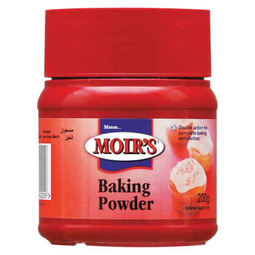 Moir's Baking Powder Pack 200g
