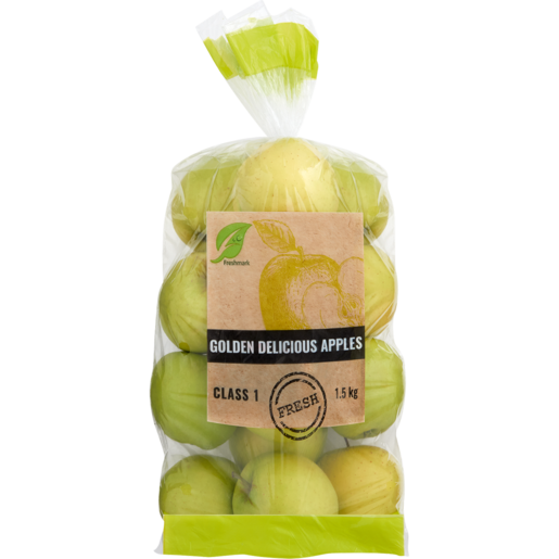 Delicious Golden Apples Bag 1.5kg