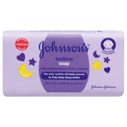 Johnson's Bedtime Baby Soap Bar 100g