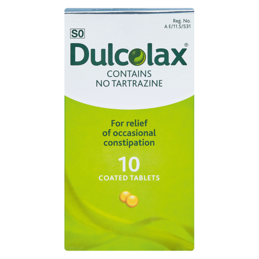 Dulcolax Laxative Tablets 10 Pack