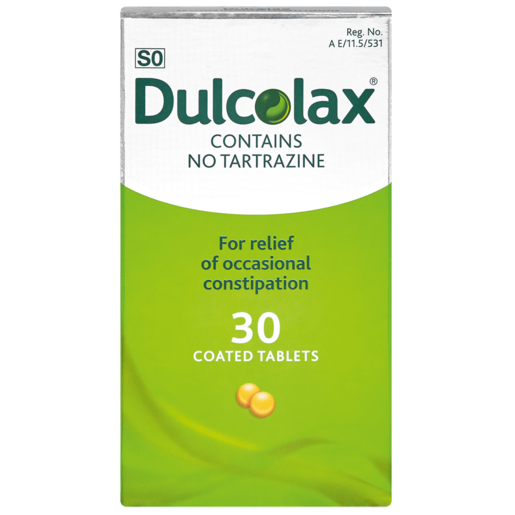 Dulcolax Laxative Tablets 30 Pack