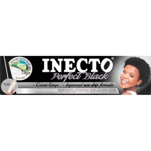 Inecto Perfect Black Hair Colour Créme 50ml