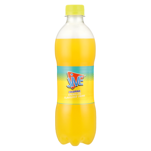 Jive Cocopina Flavoured Sparkling Soft Drink 500ml