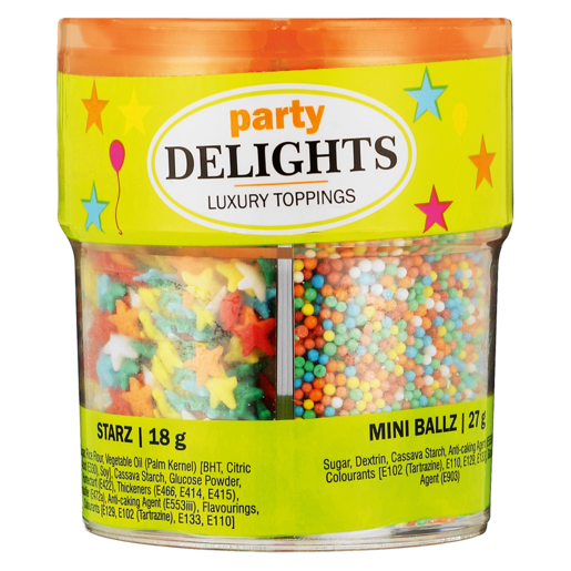 Party Delights Luxury Toppings 125ml