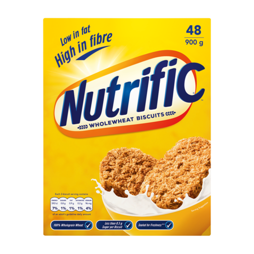 Nutrific Wholewheat Biscuit Cereal 900g