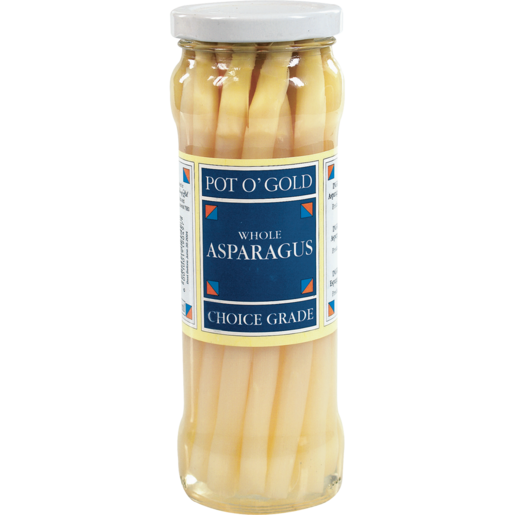 Pot O Gold White Asparagus Spears 330g Canned Vegetables Canned Food Food Cupboard Food Shoprite Za