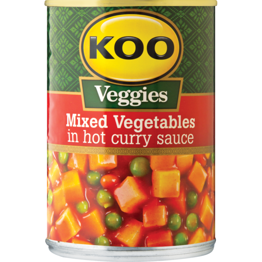 Koo Mixed Vegetables In Hot Curry Sauce 420g