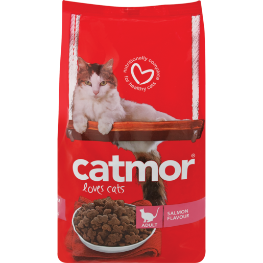 Catmor Salmon Flavoured Dry Cat Food 1.75kg