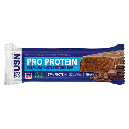USN Chocolate Ice Cream Flavoured Protein Bar 40g