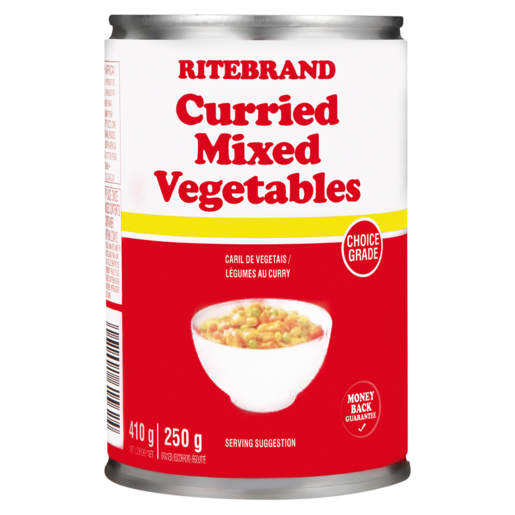Ritebrand Curried Mixed Vegetables 410g
