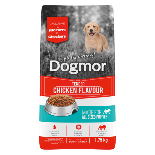 Dogmor Tender Chicken Flavoured Puppy Dog Food 1.75kg