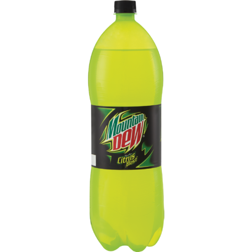 Mountain Dew Original Soft Drink Bottle 2L