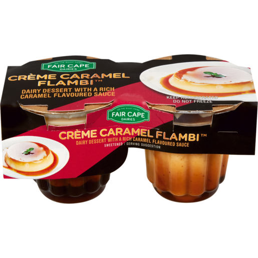 Fair Cape Créme Caramel Flambi 2 x 100ml