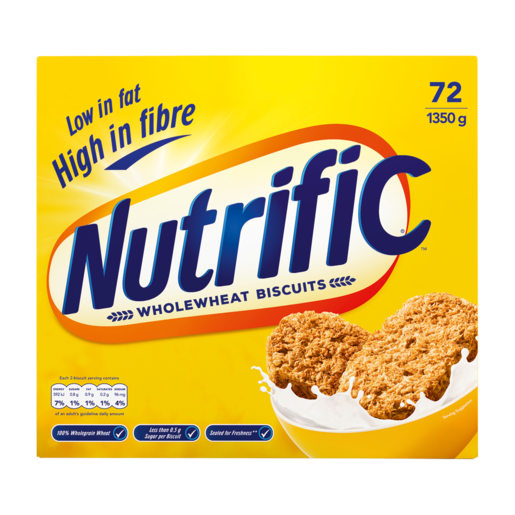 Nutrific Wholewheat Biscuit Cereal 1.35kg