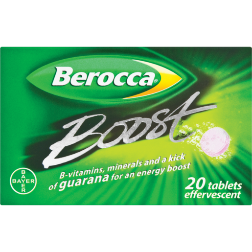Berocca Boost Effervescent Tablets 20 Pack