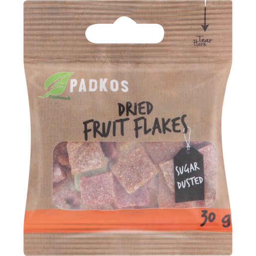 Padkos Dried Fruit Flakes 30g