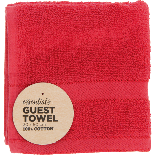 Essentials Assorted Guest Towel 30 x 50cm