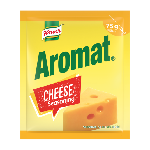 Knorr Aromat Cheese Seasoning Spice Sachet 75g