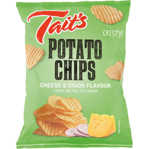Tait's Cheese & Onion Chips 125g