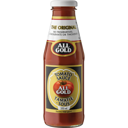 All Gold Tomato Sauce Bottle 350ml