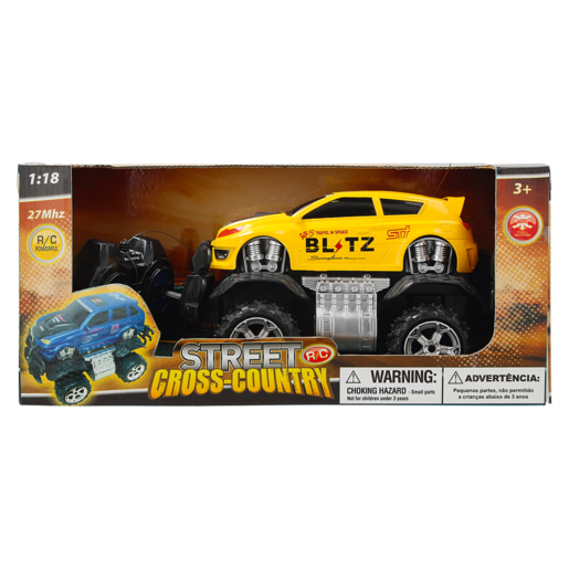 Street Cross Country 1:18 R/C Car