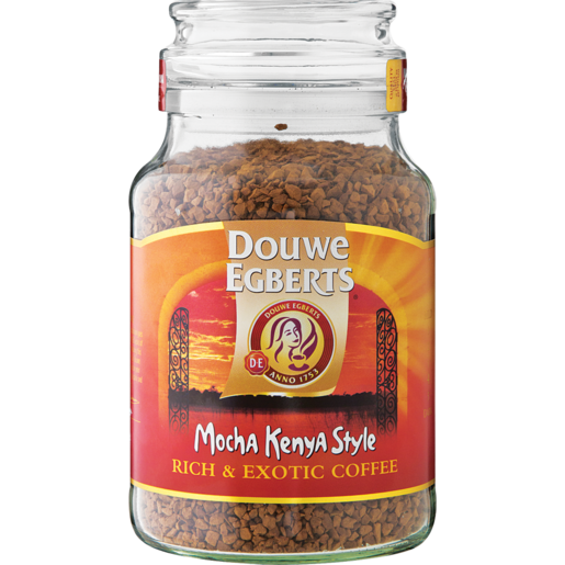 Douwe Egberts Mocha Kenya Style Instant Coffee 200g Instant Coffee Coffee Drinks Shoprite Za