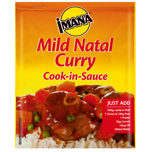 Imana Mild Natal Curry Instant Cook-In-Sauce 48g