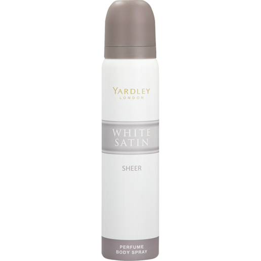 Yardley White Satin Sheer Ladies Deodorant 90ml