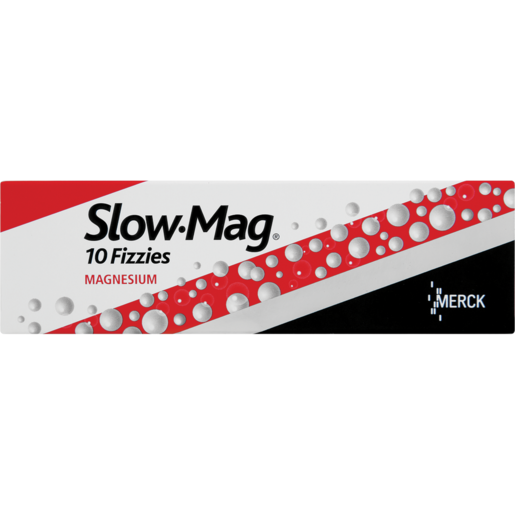 Slow-Mag Magnesium Fizzy Supplement 10 Pack
