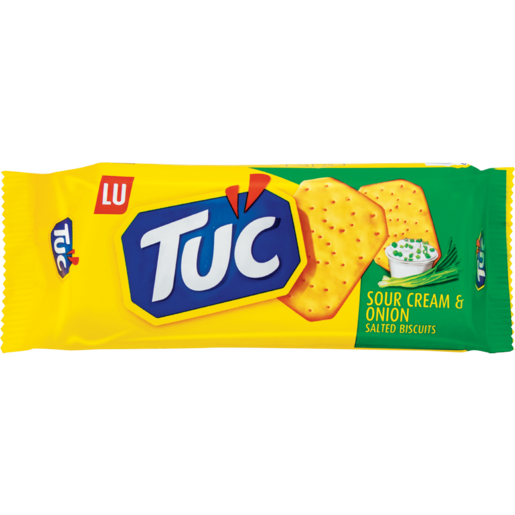 Lu Tuc Sour Cream & Onion Crackers 100g