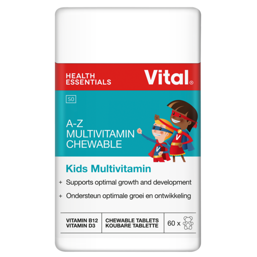 Vital Kids A-Z Chewable Multivitamins 60 Pack