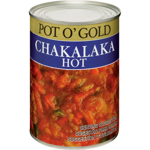 Pot O' Gold Hot Chakalaka 410g